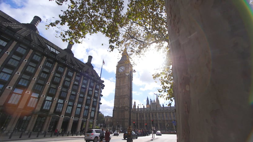 Lipscomb in Europe - Still shot of Big Ben and the Palace of Westminster